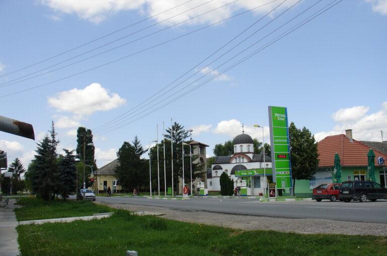 Центар Сонте и Православна црква